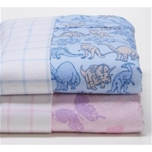 Flannelette Printed Kids Sheet Sets