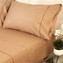 Ramesses 375TC Cotton Wave Jacquard Sheet Set