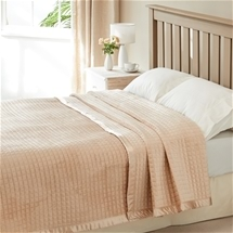 Textured Plush Blanket