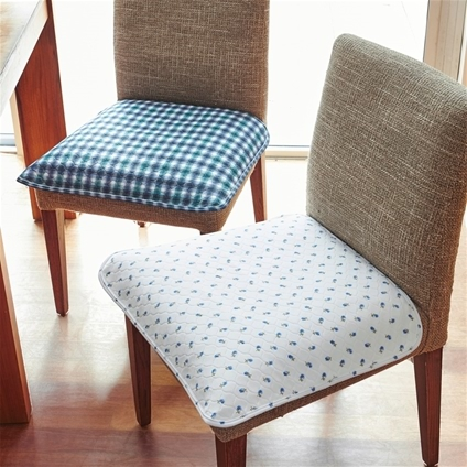 Quilted Waterproof Chair Pad Home Collections