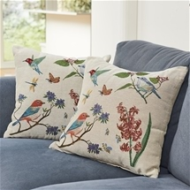 Set of 2 Bird Cushion