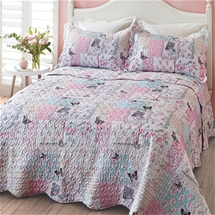 Butterfly Patchwork Bedspread