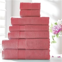 7 Piece Combed Cotton Towel Set