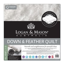 Logan and Mason Down & Feather Quilts