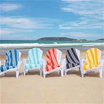 Cotton Havana Stripe Beach Towel