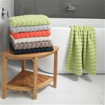 Hudson Ribbed Towel Range