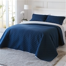 Kingston Reversible Embossed Coverlet Set
