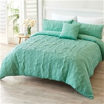 Luxury Velour Coverlet Set