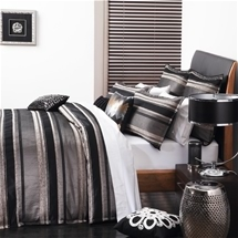 Logan and Mason Maddox Black Bedding