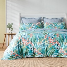 Norfolk Teal Quilt Cover Set