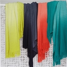 Logan and Mason Ombre Throws