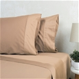 1000TC American Pima Cotton Sateen Plain Sheet Set_APESD_1