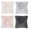Plain Faux Fur Throws & Cushions_FAXRB_0