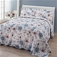 Floral Watercolour Bedspread_FLWCB_0
