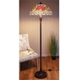 Stained Glass Rose Floor Lamp_RLMPC_0