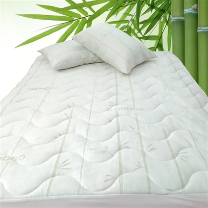 Bamboo Mattress Pad Home Collections