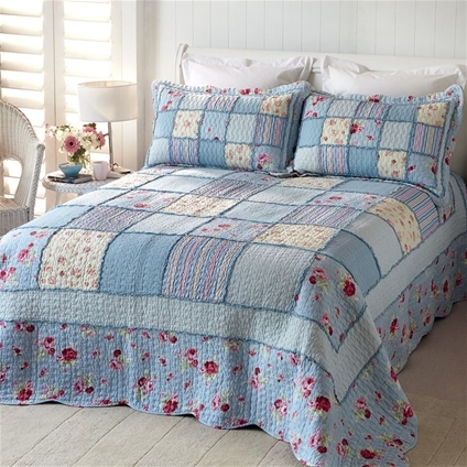 Blue Country Bedding