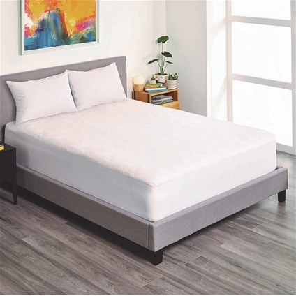 Cosy, fitted mattress protector