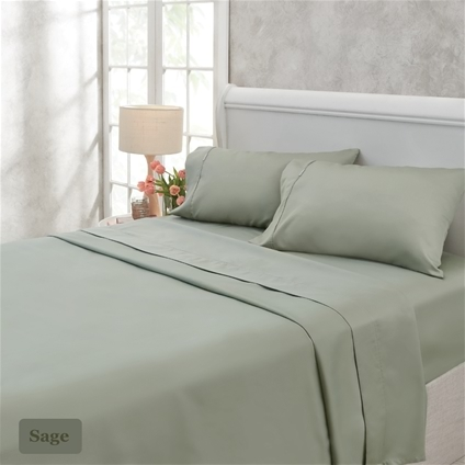 1000TC Cotton Rich Sheet Set