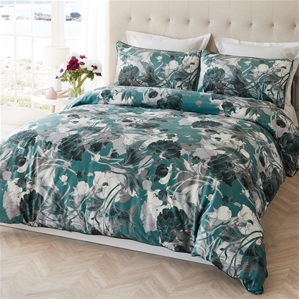Emerald Garden Quilt Cover Set
