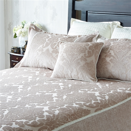 Patrician Velvet Jacquard Bedding Home Collections
