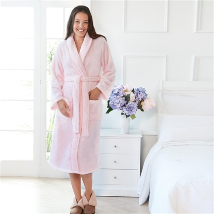 Silk Touch Unisex Bathrobe
